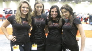 The ladies from Dusk TV