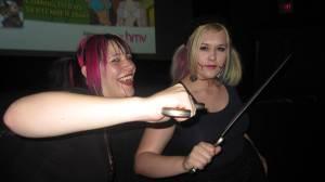 Toronto After Dark: Jen & Hannah at Vampire Girl vs. Frankenstein Girl
