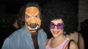 werewolf and afro