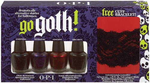 "NASTY NAILS: ""GO GOTH!"" THIS HALLOWEEN WITH OPI NAIL POLISH 